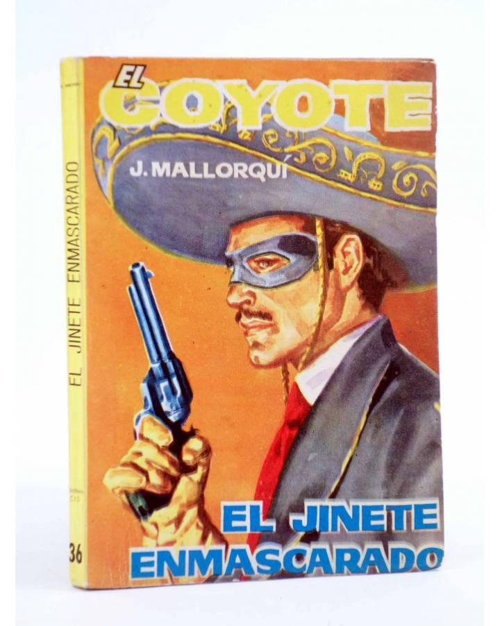 Cubierta de EL COYOTE 36. EL JINETE ENMASCARADO (José Mallorquí) Cid 1961