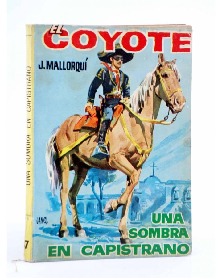 Cubierta de EL COYOTE 37. UNA SOMBRA EN PAPISTRANO (José Mallorquí) Cid 1961