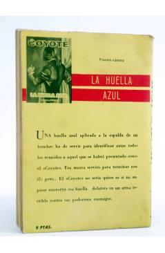 Contracubierta de EL COYOTE 38. OTRA VEZ EL COYOTE (José Mallorquí) Cid 1961
