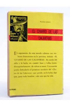 Contracubierta de EL COYOTE 69. LOS APUROS DE DON CÉSAR (José Mallorquí) Cid 1962
