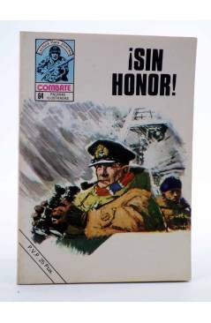 Cubierta de COMBATE 205. ¡SIN HONOR!. Producciones Editoriales 1980