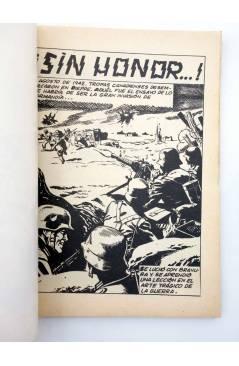 Muestra 1 de COMBATE 205. ¡SIN HONOR!. Producciones Editoriales 1980