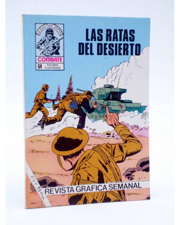 Cubierta de COMBATE 241. LAS RATAS DEL DESIERTO. Producciones Editoriales 1981