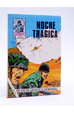 Cubierta de COMBATE 242. NOCHE TRÁGICA. Producciones Editoriales 1981