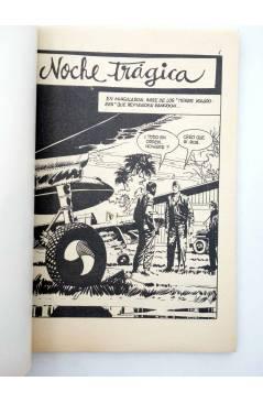 Muestra 1 de COMBATE 242. NOCHE TRÁGICA. Producciones Editoriales 1981