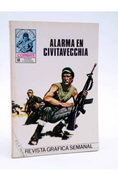 Cubierta de COMBATE 246. ALARMA EN CIVITAVECCHIA. Producciones Editoriales 1981