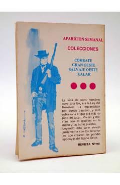 Contracubierta de COMBATE 246. ALARMA EN CIVITAVECCHIA. Producciones Editoriales 1981