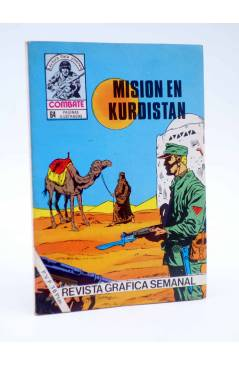 Cubierta de COMBATE 247. MISIÓN EN KURDISTÁN. Producciones Editoriales 1981