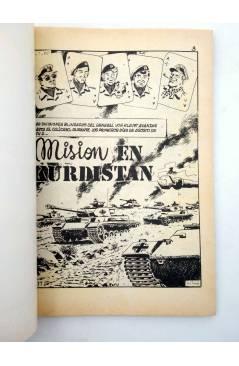 Muestra 1 de COMBATE 247. MISIÓN EN KURDISTÁN. Producciones Editoriales 1981