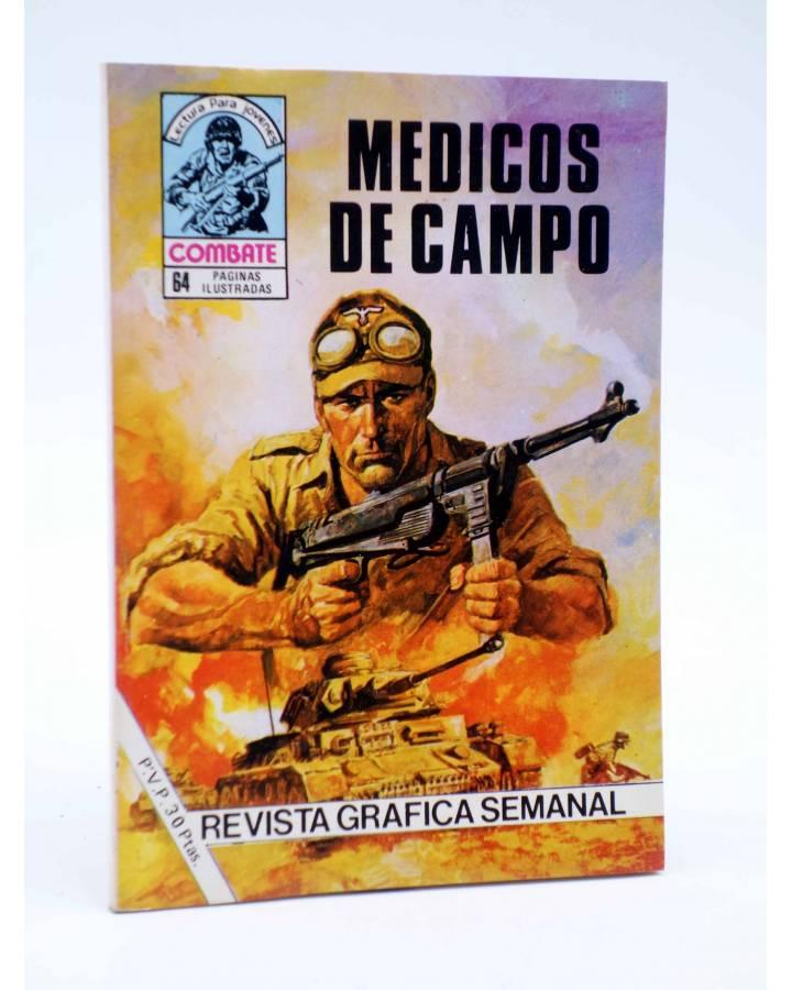 Cubierta de COMBATE 249. MÉDICOS DE CAMPO. Producciones Editoriales 1981