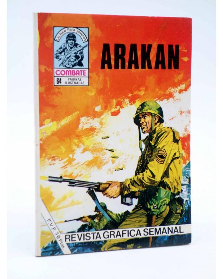 Cubierta de COMBATE 250. ARAKAN. Producciones Editoriales 1981