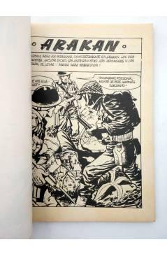 Muestra 1 de COMBATE 250. ARAKAN. Producciones Editoriales 1981