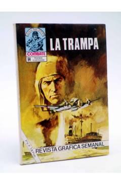 Cubierta de COMBATE 251. LA TRAMPA. Producciones Editoriales 1981