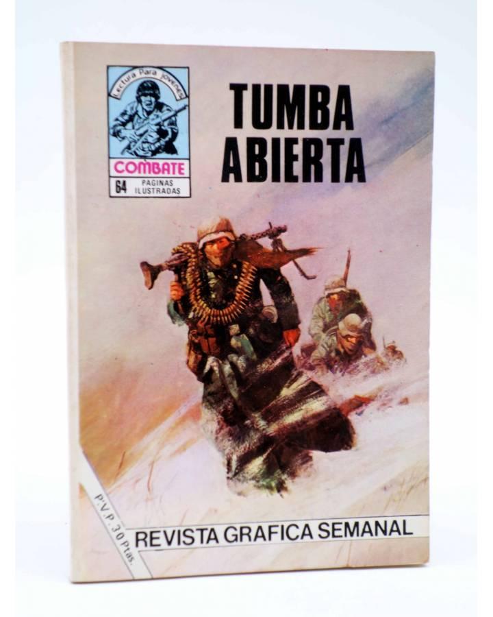 Cubierta de COMBATE 253. TUMBA ABIERTA. Producciones Editoriales 1981