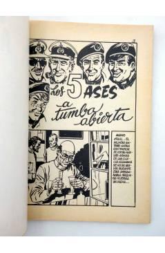 Muestra 1 de COMBATE 253. TUMBA ABIERTA. Producciones Editoriales 1981