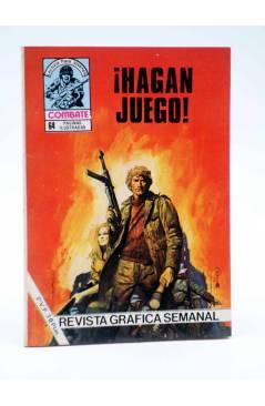 Cubierta de COMBATE 254. ¡HAGAN JUEGO!. Producciones Editoriales 1981