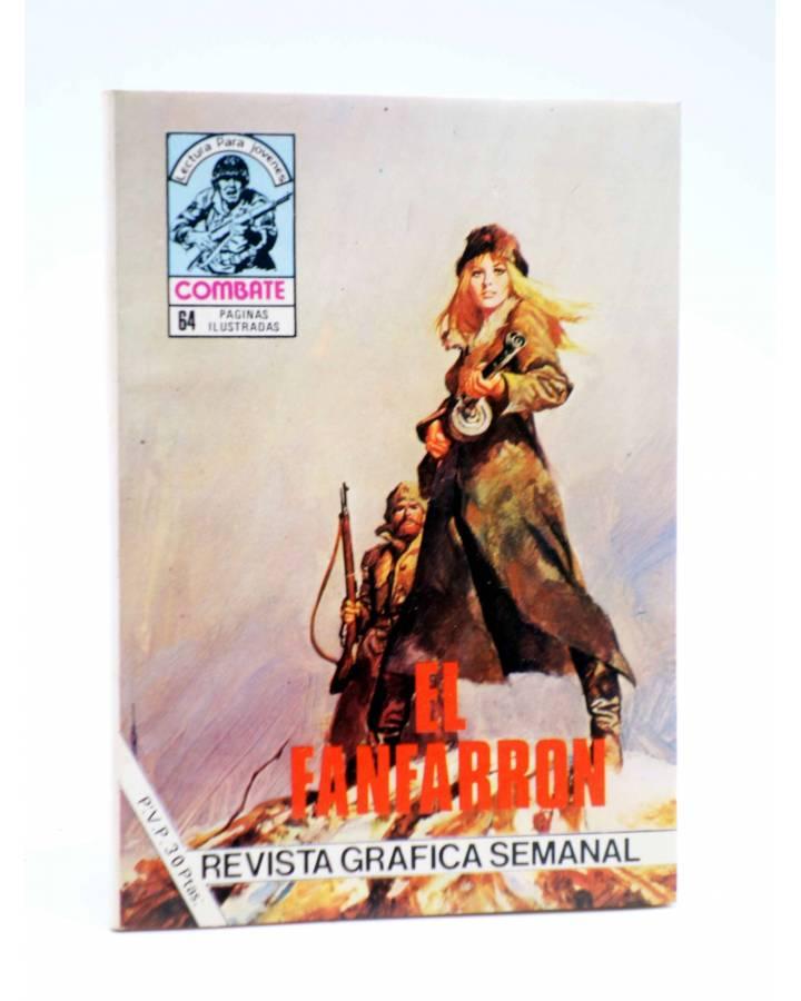 Cubierta de COMBATE 255. EL FANFARRÓN. Producciones Editoriales 1981