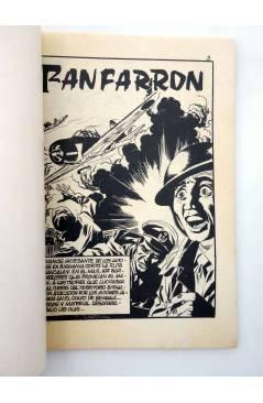 Muestra 1 de COMBATE 255. EL FANFARRÓN. Producciones Editoriales 1981