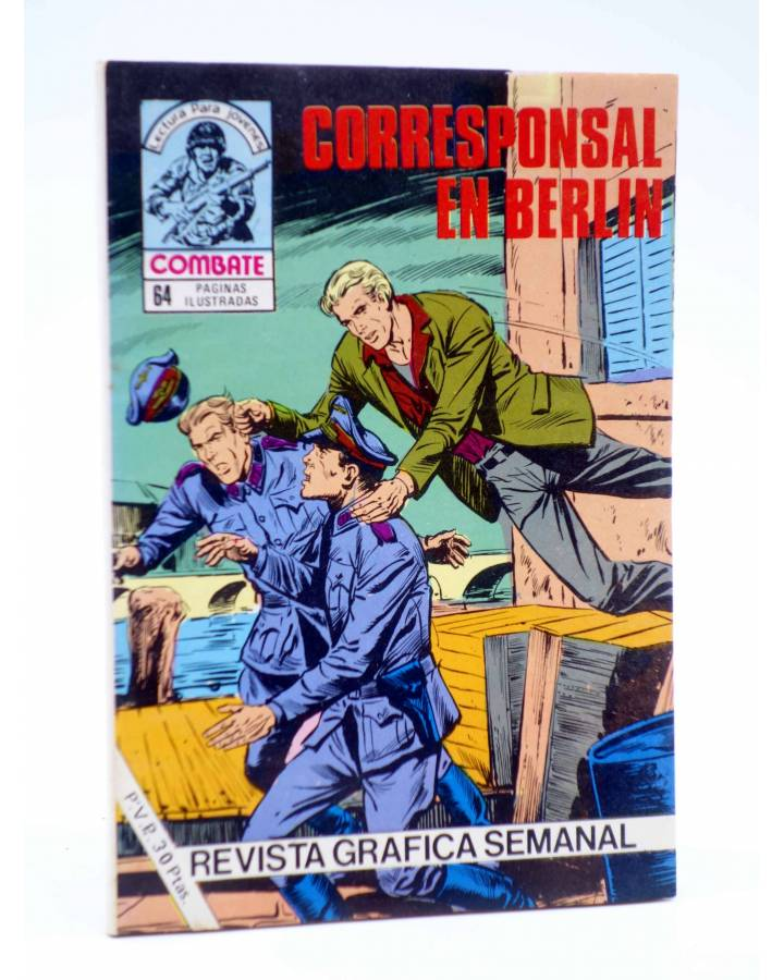 Cubierta de COMBATE 258. CORRESPONSAL EN BERLÍN. Producciones Editoriales 1981