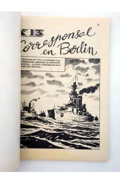 Muestra 1 de COMBATE 258. CORRESPONSAL EN BERLÍN. Producciones Editoriales 1981