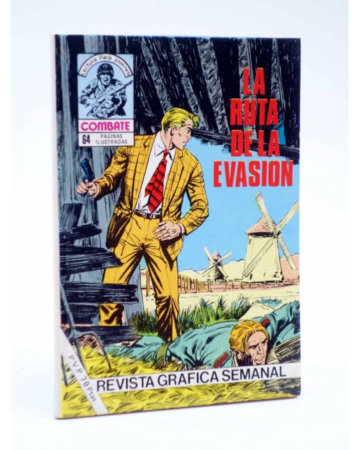 Cubierta de COMBATE 260. LA RUTA DE LA EVASIÓN. Producciones Editoriales 1981
