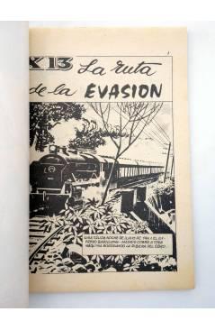 Muestra 1 de COMBATE 260. LA RUTA DE LA EVASIÓN. Producciones Editoriales 1981