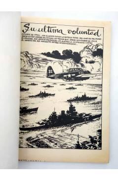 Muestra 1 de COMBATE 261. SU ÚLTIMA VOLUNTAD. Producciones Editoriales 1981