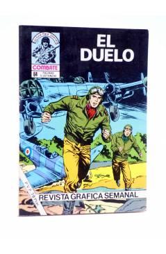 Cubierta de COMBATE 262. EL DUELO. Producciones Editoriales 1981