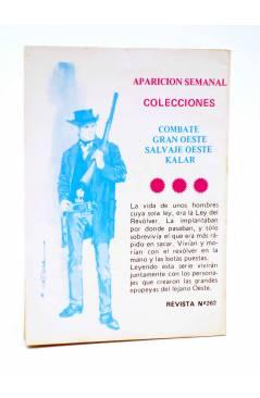 Contracubierta de COMBATE 262. EL DUELO. Producciones Editoriales 1981