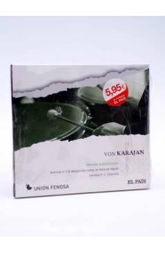 Cubierta de CD HERBERT VON KARAJAN 4. BRAHMS & BEETHOVEN (Von Karajan) El País 2008