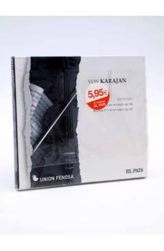 Cubierta de CD HERBERT VON KARAJAN 5. BEETHOVEN: SINFÓNÍAS Nº 2 Y Nº 7 (Von Karajan) El País 2008