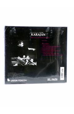 Contracubierta de CD HERBERT VON KARAJAN 7. BERLIOZ: SINFÓNÍA FANTÁSTICA (Von Karajan) El País 2008
