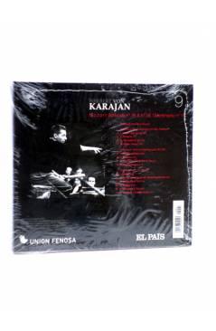 Contracubierta de CD HERBERT VON KARAJAN 9. MOZART: SINFONÍAS Nº 35 Y Nº 39. DIVERTIMENTO Nº 1 (Von Karajan) El País 200