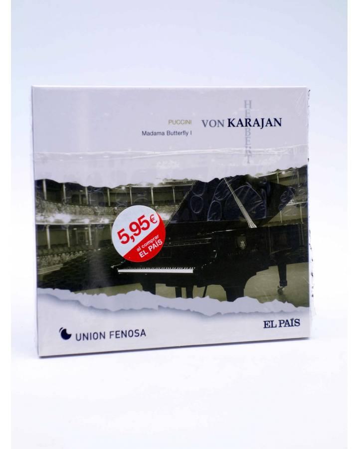 Cubierta de CD HERBERT VON KARAJAN 10. PUCCINI: MADAMA BUTTERFLY I (Von Karajan) El País 2008