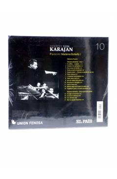 Contracubierta de CD HERBERT VON KARAJAN 10. PUCCINI: MADAMA BUTTERFLY I (Von Karajan) El País 2008