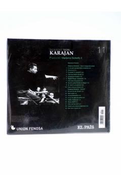 Contracubierta de CD HERBERT VON KARAJAN 11. PUCCINI: MADAMA BUTTERFLY I (Von Karajan) El País 2008