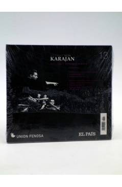 Contracubierta de CD HERBERT VON KARAJAN 13. SCHUBERT: SINFONÍAS Nº 8 Y Nº 9 (Von Karajan) El País 2008