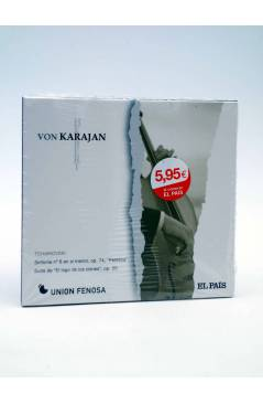 Cubierta de CD HERBERT VON KARAJAN 15. TCHAIKOVSKI: SINFONÍA Nº 6 PATÉTICA. SUITE DE EL LAGO DE LOS CISNES (Von Karajan)