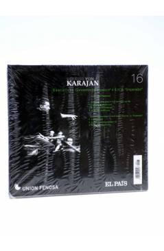Contracubierta de CD HERBERT VON KARAJAN 16. BEETHOVEN: CONCIERTOS PARA PIANO NºS 4 Y Nº 8. EMPERADOR (Von Karajan) El P