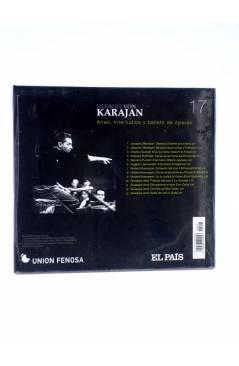 Contracubierta de CD HERBERT VON KARAJAN 17. ARIAS INTERLUDIOS Y BALLETS DE OPERAS (Von Karajan) El País 2008
