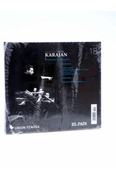 Contracubierta de CD HERBERT VON KARAJAN 18. STRAUSS & WAGNER (Von Karajan) El País 2008