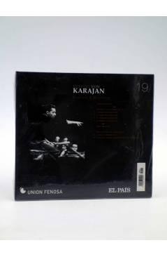 Contracubierta de CD HERBERT VON KARAJAN 19. BRAHMS & BRUCKNER (Von Karajan) El País 2008