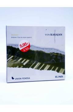 Cubierta de CD HERBERT VON KARAJAN 20. BRUCKNER. SINFONÍA Nº 8 (Von Karajan) El País 2008