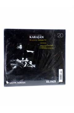 Contracubierta de CD HERBERT VON KARAJAN 20. BRUCKNER. SINFONÍA Nº 8 (Von Karajan) El País 2008