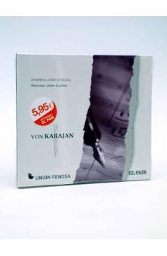 Cubierta de CD HERBERT VON KARAJAN 21. JOHANN & JOSEF STRAUSS (Von Karajan) El País 2008