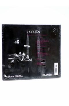 Contracubierta de CD HERBERT VON KARAJAN 21. JOHANN & JOSEF STRAUSS (Von Karajan) El País 2008