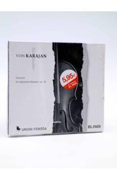 Cubierta de CD HERBERT VON KARAJAN 23. BRAHMS: EIN DEUTSCHES REQUIEM (Von Karajan) El País 2008