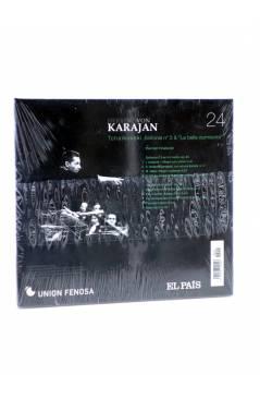 Cubierta de CD HERBERT VON KARAJAN 25. DEBUSSY FRANCK & GRIEG (Von Karajan) El País 2008