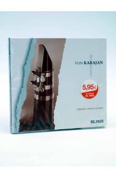 Contracubierta de CD HERBERT VON KARAJAN 25. DEBUSSY FRANCK & GRIEG (Von Karajan) El País 2008