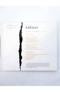 Contracubierta de CD HERBERT VON KARAJAN 1 A 25. COLECCIÓN COMPLETA (Von Karajan) El País 2008